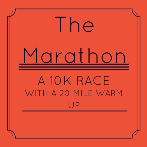 Marathon (noun)